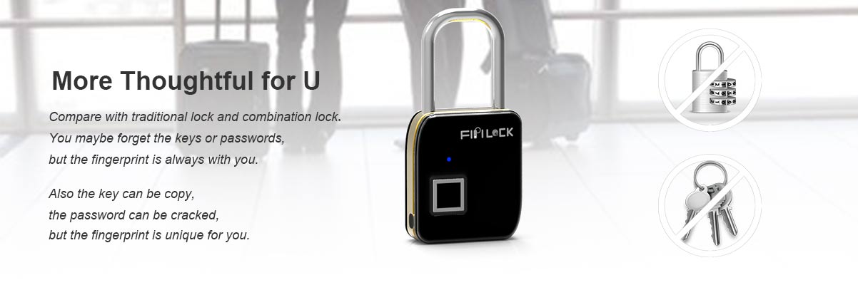 fingerprint locker lock