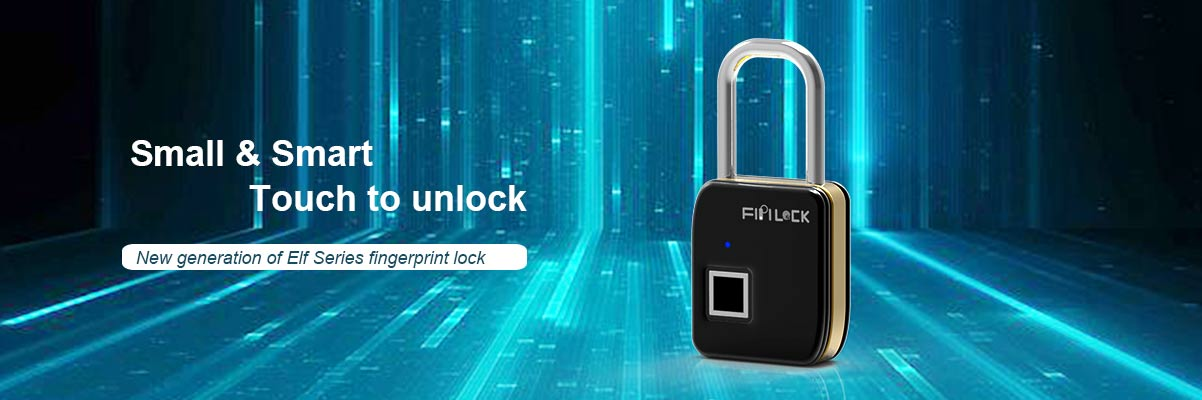 fingerprint touch padlock