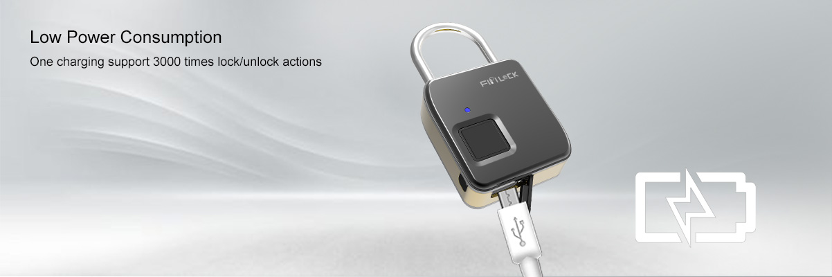 low power consumption smart padlock