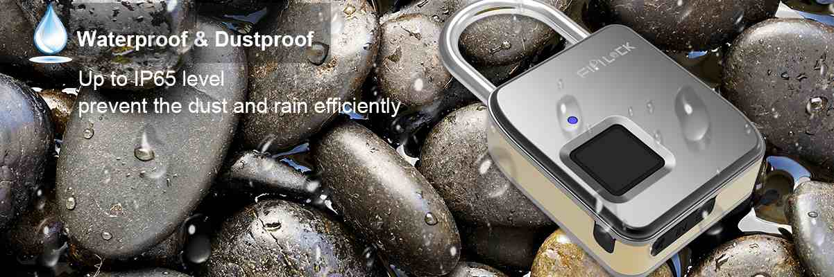 waterproof padlock