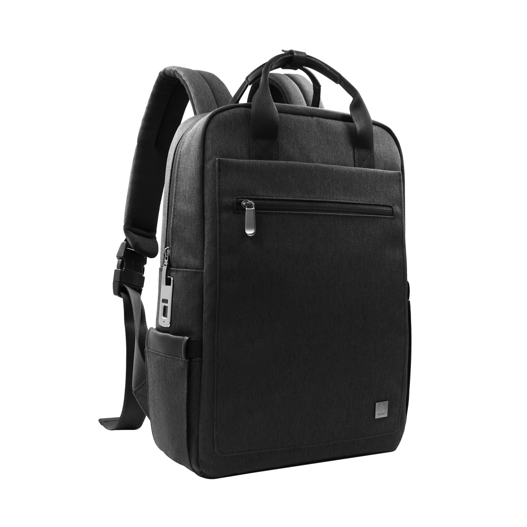 High-quality fashionable Millet fabric Anti Theft Waterproof Smart Travel Laptop Backpack with smart fingerprint lock